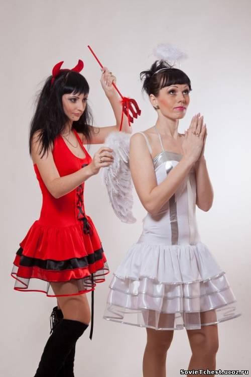 Новогодние маскарадные костюмы для женщин